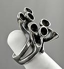 Stinn Modernist Sterling Ring