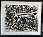 Charles Rosen New Hope Pa. Modernist Print