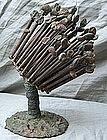 Klaus Ihlenfeld Modernist Organic Bronze Sculpture