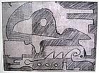 RAMSTONEV - New Hope Modernist Drawing  - #2