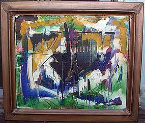 Joseph Meierhans Modernist - Bucks County , PA. O/B