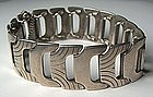 A. Michelsen Modernist Sterling Bracelet