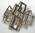 Rey Urban Modernist Brooch - Sterling Denmark