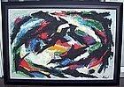 Lucille Ireland Modernist Abstract - Philadelphia