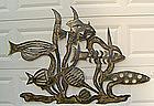 Jim Gary Wall Sculpture Modernist Mid Century Folk Art