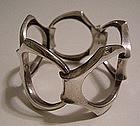 Modernist Sterling Jewelry Bracelet Netherlands