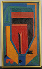 Luis Lopez Loza - NYC - Latin Modernist Abstract