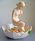Ronzan Art Deco/Moderne Nude Figurine - Italy