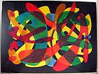 Matt Kauten Modernist Abstract Oil on Canvas