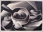 Paul Landacre Modernist Engraving 1954