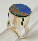 Modernist Jewelry Kaunis Koru Sterling Ring - Finland