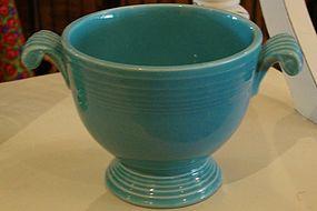 Fiesta Turquoise sugar bowl