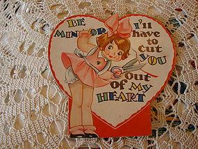 Vintage Valentine from 1935-36