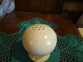 Fiesta Ware Ivory Salt Shaker