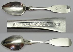 Good West Virginia Coin Silver Teaspoon - James T. Scott & Co.