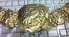 Straits Silver Gilt Belt