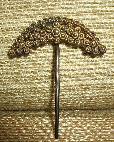 Qing Dynasty era Noble lady's gilt silver hairpin