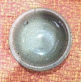 Chinese Qing Dynasty Ge Style Bowl