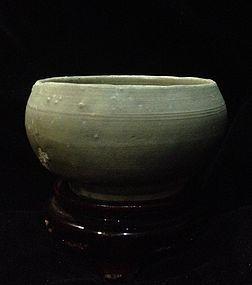 Rare Chinese Northern Song era Yue kiln celadon Alms bowl
