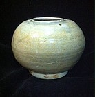 Chinese Five Dynasties to late Tang Yue Celadon brush washer