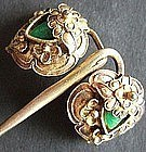 Chinese Gilt Silver Hairpin
