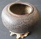 Chinese  Black Glaze Brush Washer