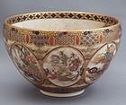 Satsuma earthenware tea bowl by Meizan