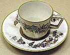 Satsuma Cup & Saucer with Processional by Shoko Takebe