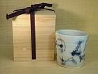 Contemporary Gosu tea cup by Yoshikawa Masamichi
