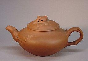 CHINESE YIXIN TEA POT