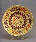 Large American Indian basket by Rose Ann Whiskers