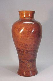 18TH CENTURY CHINESE PEKING GLASS VASE
