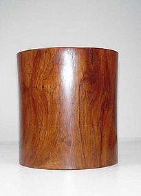 Wood Brush Holder
