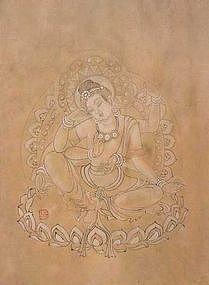 Original Chinese Brush Painting by Jin Tian