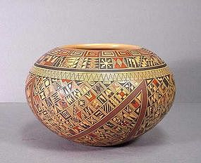 American Indian Tewa-Hopi Jar