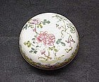 Chinese Famille-Rose Seal Box
