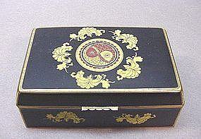 CHINESE EXPORT CLOISONNE BOX