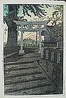 JAPANESE WOODBLOCK PRINT BY SHIRO