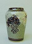 Japanese Mashiko style vase by Yosuke Haruta