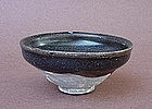 Chinese Song Dynasty Jian ware black temmoku tea bowl