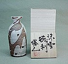 Contemporary tokkuri (sake flask) by Kako Katsumi