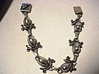 Early Laurence Foss Sterling Bracelet ~ 416A