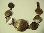 Aurar + Lyrir Coin Bracelet ~ Iceland 1956- 1959