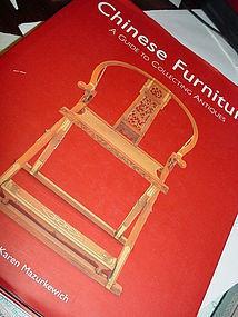Chinese Furniture ~Karen Mazurkewich HC/DJ