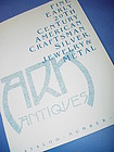 Ark Antique Catalog~Early American Arts+Crafts Silver