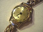 9k Gold Zenith Ladies Watch w/ 15k Gate Bracelet 20Gr