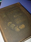 19thC Collier's Cyclopedia Social + Commercial Info....