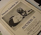 M. Gordon Catalog Auction # 3 Fine Prints + Photos 5/77