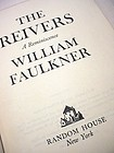 1st Printing ~ THE REIVERS~ William Faulkner 1962