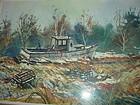 Fishing Boat Aground  ~ Michael McMahon